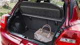 Der Kofferraum fasst zwischen 265 und 947 Liter