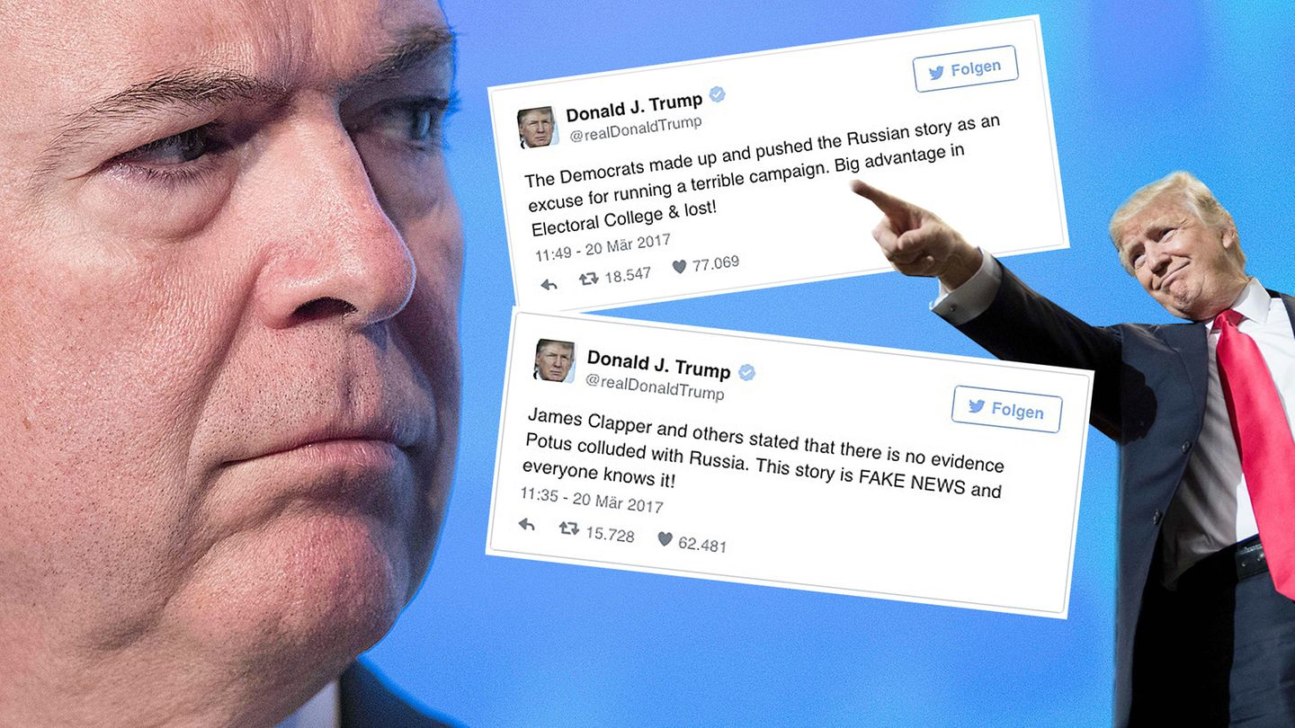 Donald Trump James Comey Tweets