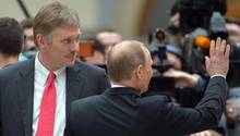 Kreml-Sprecher Dmitri Peskow bezeichnete Russland-Anhörung im US-Kongress als schädlich
