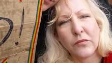 Ein Foto, das die 50-Jährigen blonde Theresa Bartram zeigt