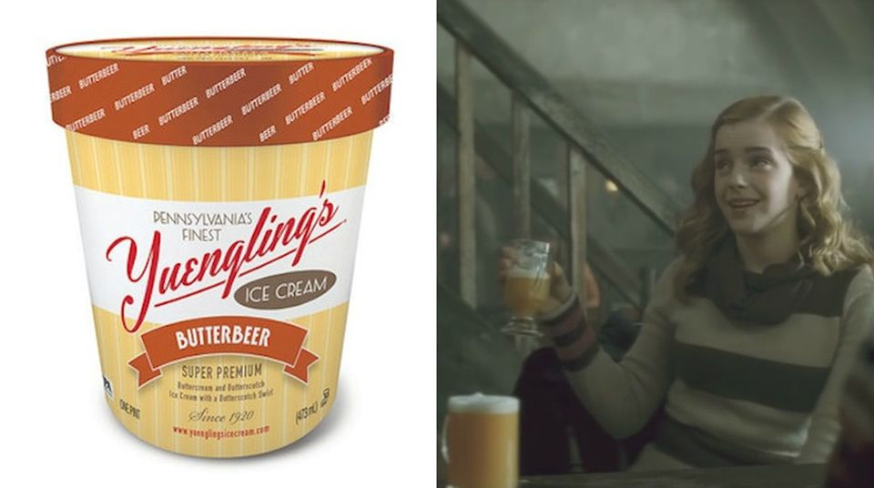 "Magische Geschmacksrichtung: Harry Potters ""Butterbier"" gibt es jetzt als Eis"