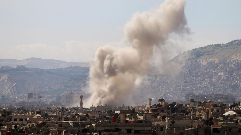 Luftangriff in Syrien (Archivbild)