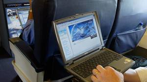 In Zukunft auf vielen Verbindungen in die USA und nach Großbritannien verboten: Laptops in der Flugzeugkabine.