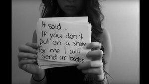 In einem achtminütigen Video schildert Amanda Todd kurz vor ihrem Tod ihre Tortur