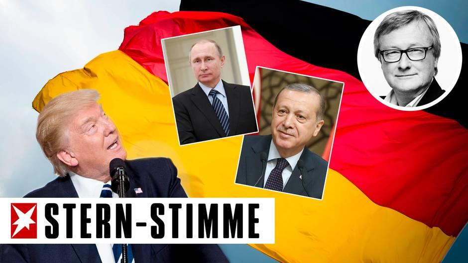 Hans-Ulrich Jörges: Klartext: Die Autokraten pinkeln auf unsere Fahne
