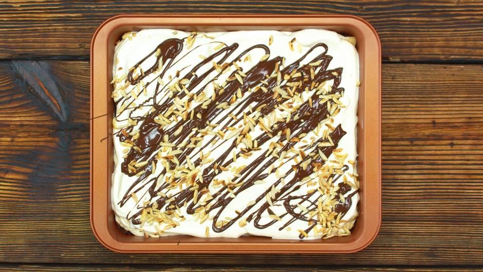Eisgericht neu interpretiert: Dieser Bananensplit-Kuchen ist so lecker - und gelingt wirklich jedem