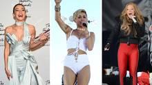 Gigi Hadid, Miley Cyrus und Mariah Carey