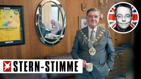 Barry Sutton, Bürgermeister von Ebbw Vale