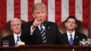 Trump redet im Kongress