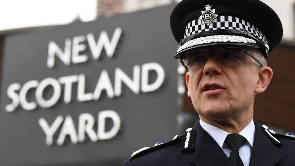 Nachrichten: Mark Rowley Polizei London