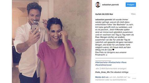 Der Bachelor Sebastian Pannek und Clea-Lacy