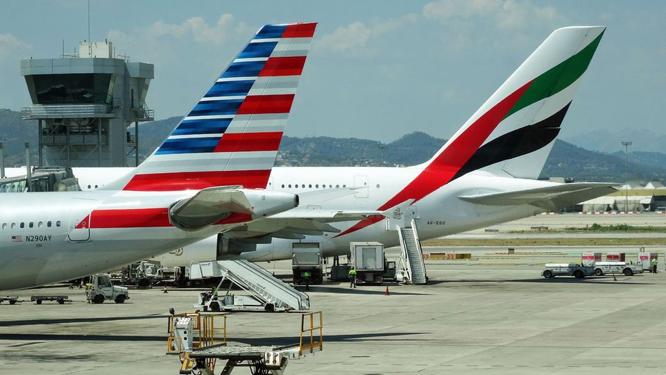 American Airlines und Emirates