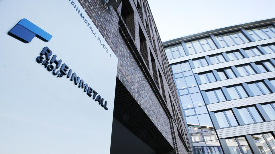 Zentrale der Rheinmetall AG in Düsseldorf