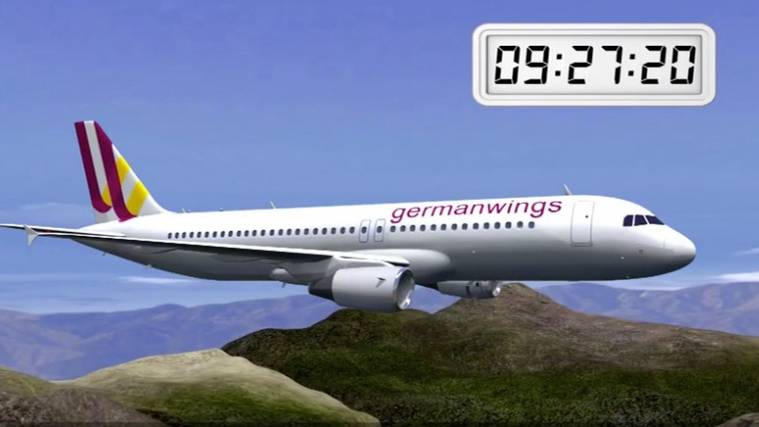 Animation des Germanwings-Absturzes
