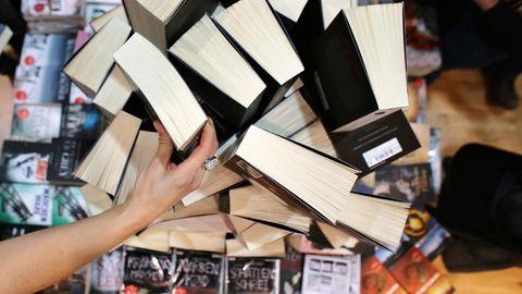Jedes Jahr strömen Hunderttausende Besucher auf die Leipziger Buchmesse.