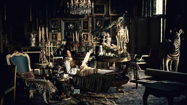 Opulente Ausstattung: Hier ist das Kabinett der Prinz-Regenten zu sehen.