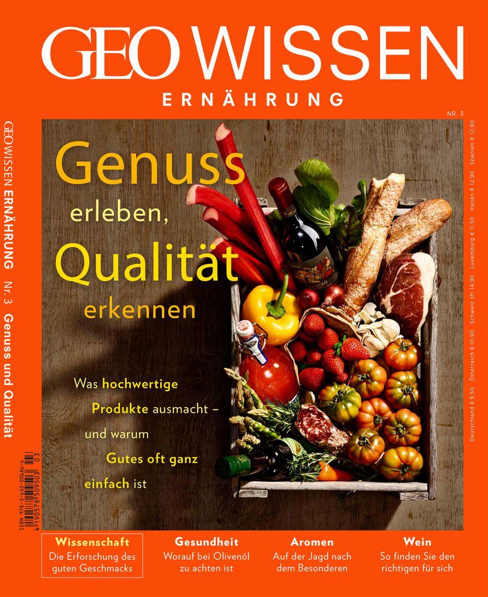 Mehr zum Thema Ernährung finden Sie in Geo Wissen. Hier können Sie das Einzelheft bestellen!