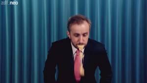 Jan Böhmermann findet den Schulz-Hype zum Kotzen