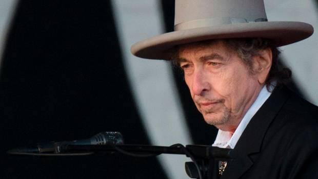Bob Dylan bei einem Auftritt in Kent im Jahr 2012