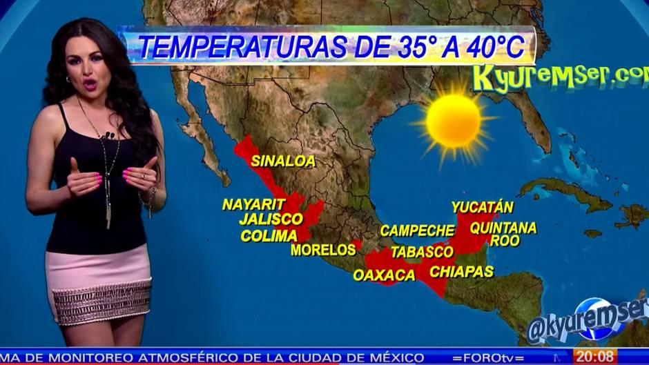 "Mayte Carranco: Gestatten, Mexikos ""Wettergöttin"""
