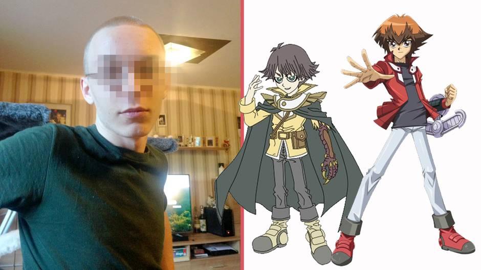 Marcel H. und Anime-Figuren