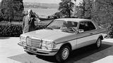 Weltpremiere Mercedes C 123 auf dem Genfer Salon 1977
