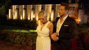 Erika und der Bachelor im Finale