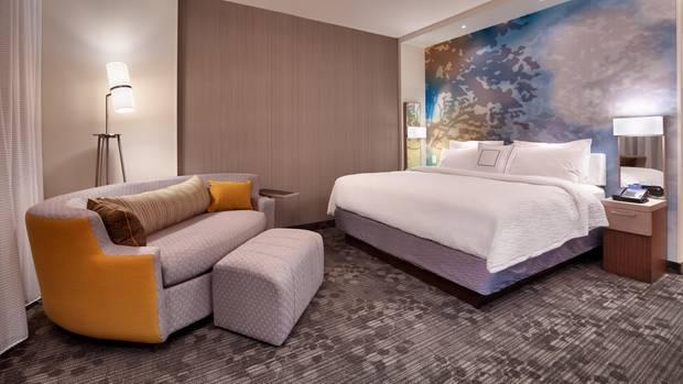 Das Zimmer eines Marriott-Hotels