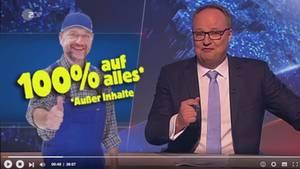 """Oliver Welke in der """"heute-Show"""""""