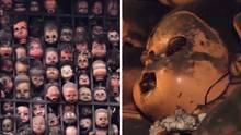 Gruselpuppen in einem Künstlerhaus in Venezuela