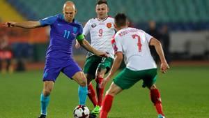 Niederlande verliert in WM-Quali gegen Bulgarien