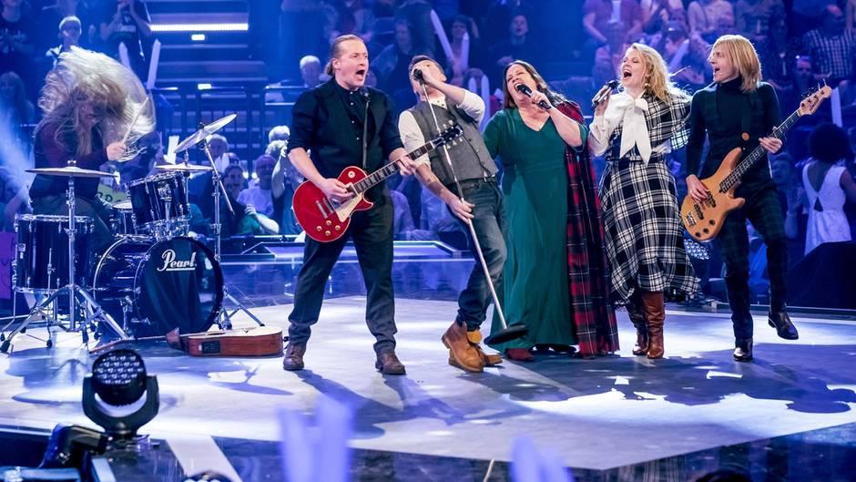 Kelly Family Feierte Comeback Helene Fischer Sang Neue Lieder