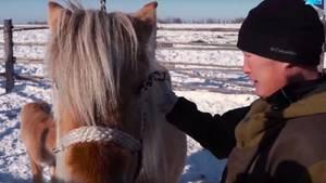 Valery Sharyn ist einer der letzten Pferdezüchter in der Republik Sacha, in Sibirien.