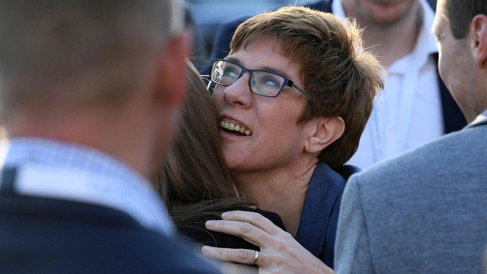 Gratulation an Annegret Kramp-Karrenbauer - sie hat die Wahl im Saarland klar gewonnen
