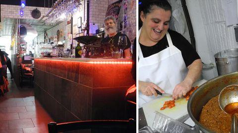 """Essen wie bei Oma: Nonna Margherita aus der Provinz Palermo in Italien kocht im Joe Scaravellas """"Enoteca Maria"""""""
