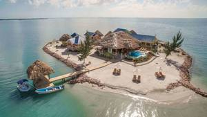 "Bild der ""Little Harvest Caye"""