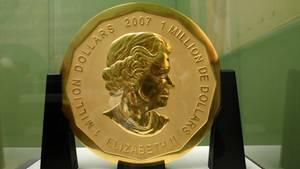Big Maple Leaf Münze Diebstahl Raub berlin Bode-Museum