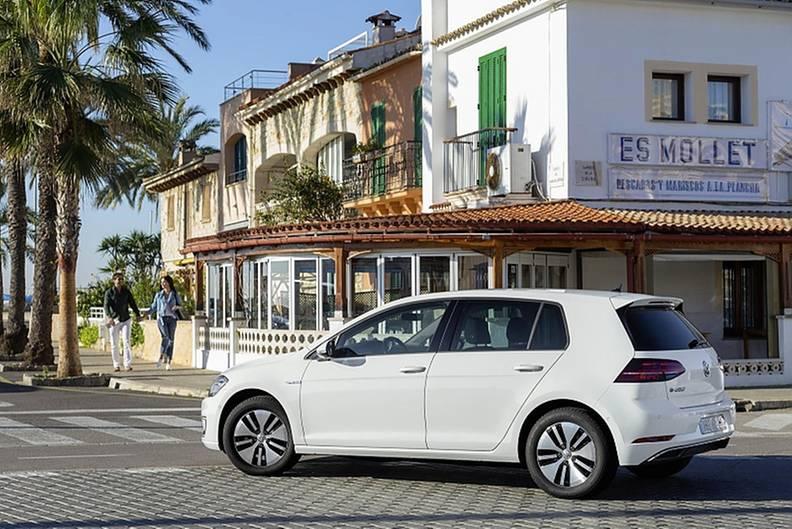 Volkswagen E-Golf - von außen optisch nicht zu erkennen