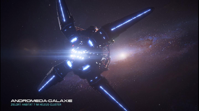 Mass Effect: Andromeda die Hyperion erreicht Andromeda