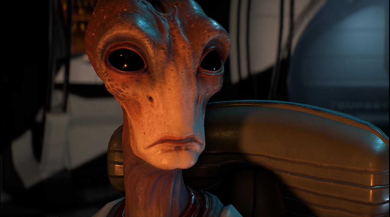 Mass Effect: Andromeda Der Pilot der Tempest ist ein witziger Salarianer