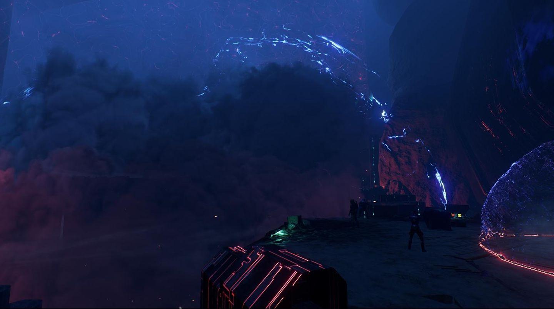 Mass Effect: Andromeda eine riesige Wolke rast auf Ryder zu