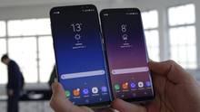 Galaxy S8+ (6,2-Zoll-Screen) vs. Galaxy S8 (5,8 Zoll)
