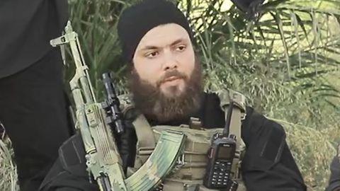 Yamin A.-Z. alias Abu Umma al-Almani in einem Propagandavideo des Islamischen Staates