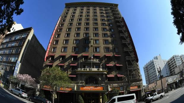 """Das Hotel """"Stay on Main"""" in Los Angeles. Hier wurde Elisa L. gefunden."""