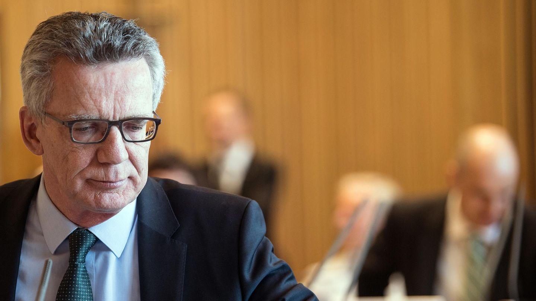 Im Terrorfall Anis Amri hat auch Bundesinnenminister Thomas de Maizère vor dem Untersuchungsausschuss ausgesagt