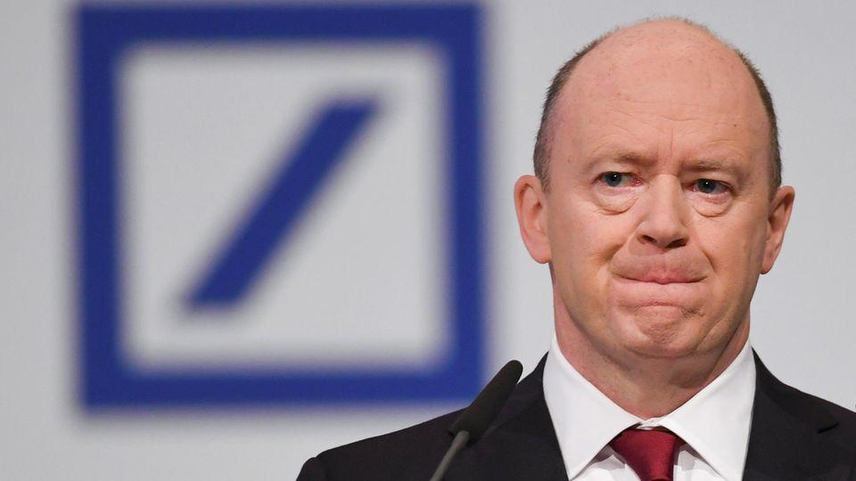 Eine weitere Rechtstreitigkeit für sein Geldhaus? John Cryans Deutsche Bank soll bei Cum-Ex-Deals mitgemischt haben.