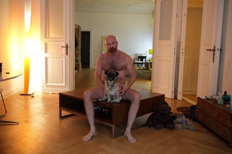 In berlin nackt