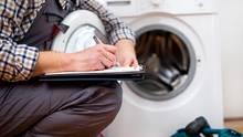 Kundendienst für Waschmaschine