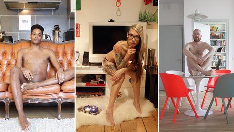 Fotobuch via Crowdfunding: 381 Berliner haben sich nackt in ihrer Wohnung fotografieren lassen