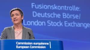 Die Deutsche Börse und London Stock Exchange dürfen nicht zum größten europäischen Börsenbetreiber zusammengelegt werden